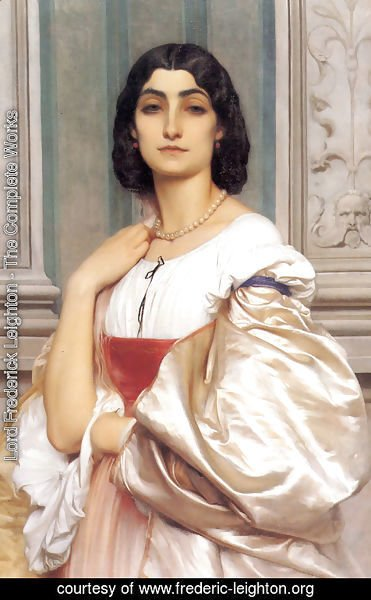 Lord Frederick Leighton - A Roman Lady (or La Nanna)
