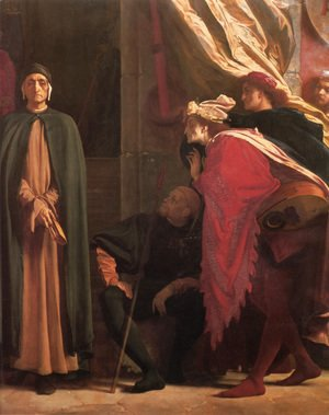 Dante in Exile [detail: right]