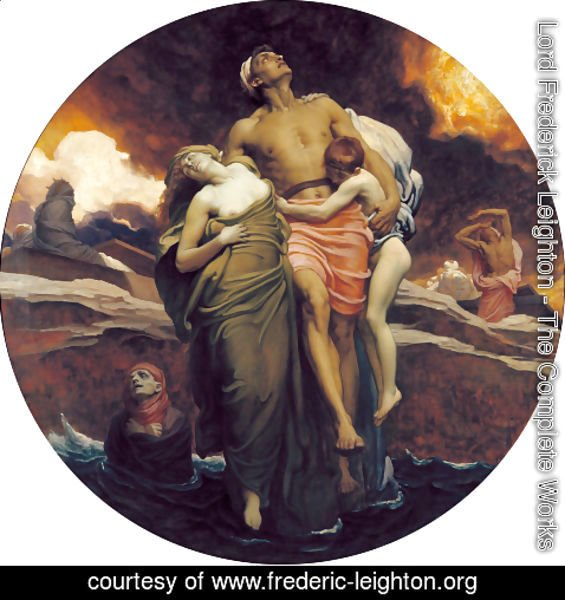 Lord Frederick Leighton - 'And the sea gave up the dead which were in it'