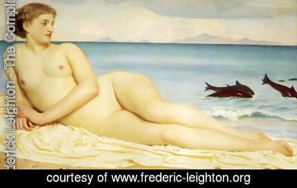 Lord Frederick Leighton - Actaea, the Nymph of the Shore