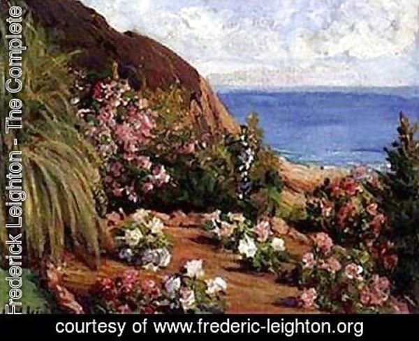 Lord Frederick Leighton - Seaside Flowers