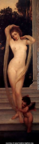 Lord Frederick Leighton - A Bather I