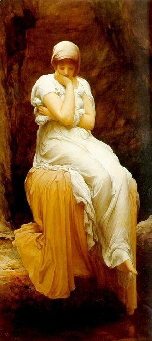 Lord Frederick Leighton - Seated