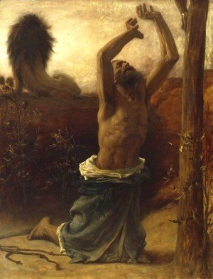 Lord Frederick Leighton - St Jerome