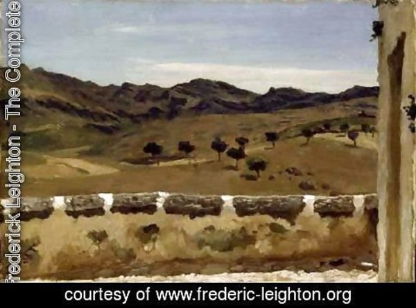 A View in Spain | Lord Frederick Leighton