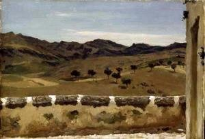 Lord Frederick Leighton - A View in Spain
