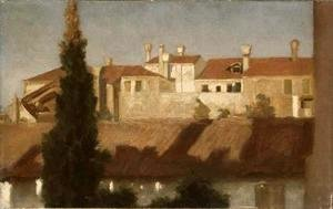 Lord Frederick Leighton - Houses in Venice