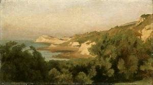 Lord Frederick Leighton - On the Coast, Isle of Wight