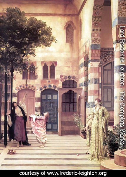 Lord Frederick Leighton - Old Damascus, Jew's Quarter