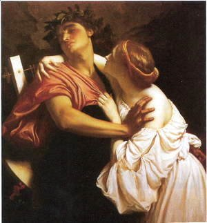 Lord Frederick Leighton - Orpheus and Euridice
