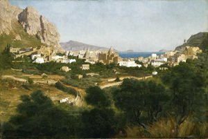 Lord Frederick Leighton - Capri - Sunrise