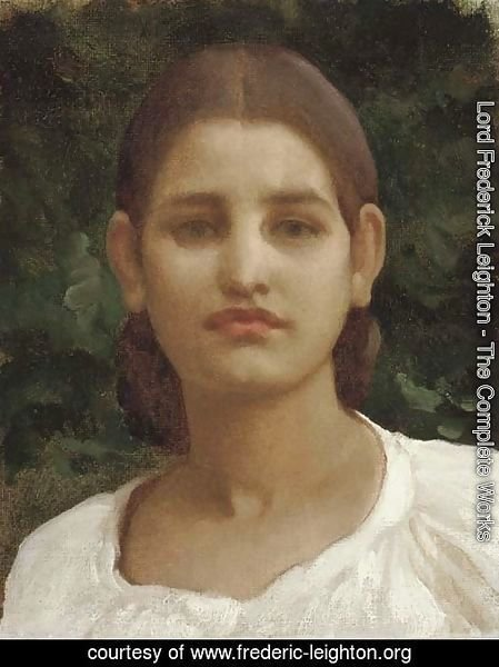 Head of a girl (thought to be from Capri)