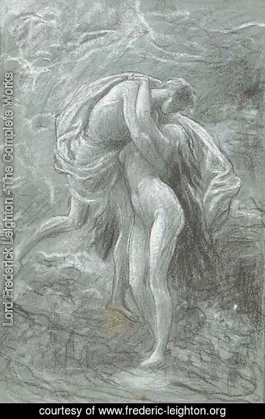 Study of figures embracing