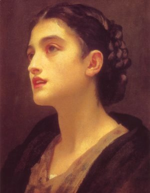 Lord Frederick Leighton - Study of a Lady