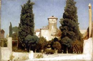 Lord Frederick Leighton - The Villa Malta, Rome