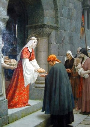 Lord Frederick Leighton - Charity of St. Elizabeth of Hungary