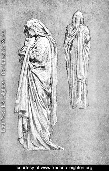 Lord Frederick Leighton - Illustrations from Volume 1 of The Yellow Book