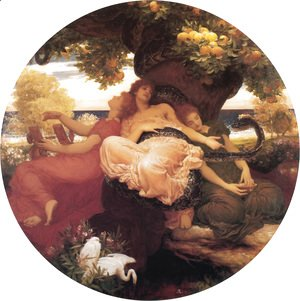Lord Frederick Leighton - The Garden Of The Hesperides