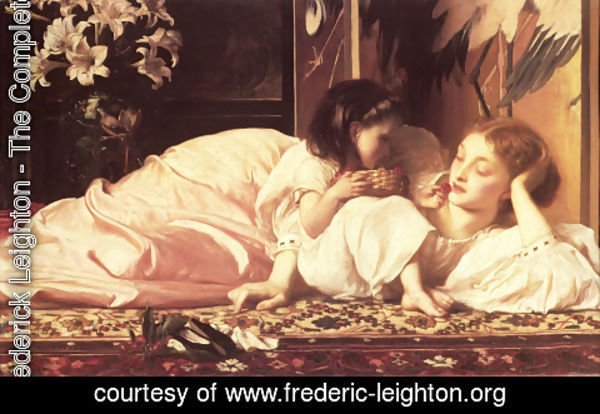 Lord Frederick Leighton - Mother And Child