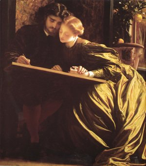 Lord Frederick Leighton - The Painter's Honeymoon