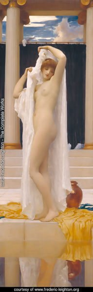 Lord Frederick Leighton - The Bath Of Psyche