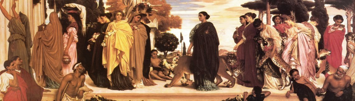 Lord Frederick Leighton - The Syracusan Bride