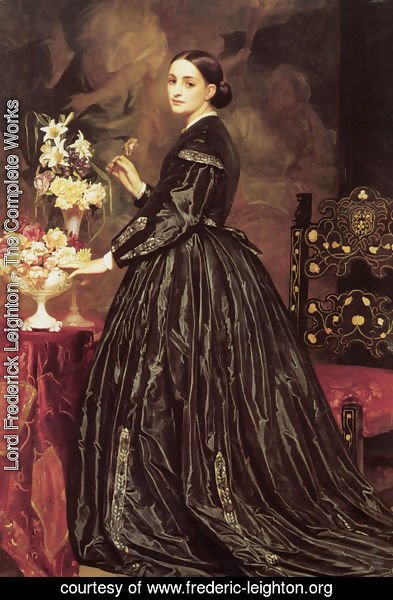 Lord Frederick Leighton - Mrs James Guthrie