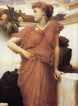 Lord Frederick Leighton - At The Fountain