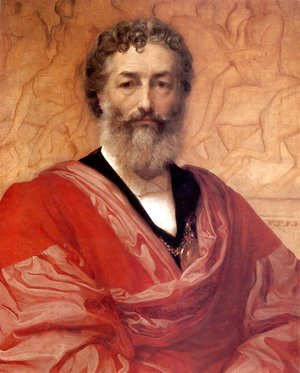 Lord Frederick Leighton - Self Portrait