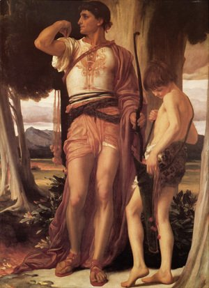 Lord Frederick Leighton - Jonathan's Token To David