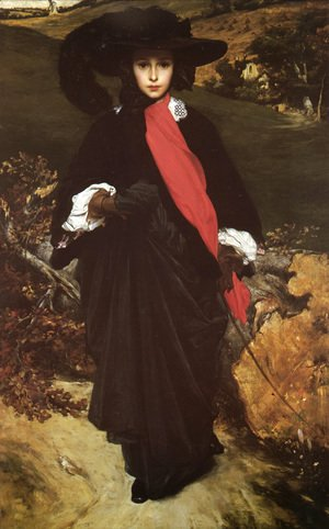 Lord Frederick Leighton - May Sartoris