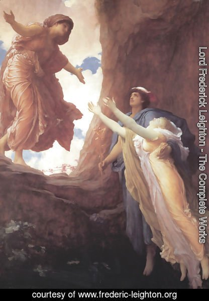 Lord Frederick Leighton - Return Of Persephone