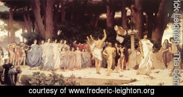 Lord Frederick Leighton - The Daphnephoria