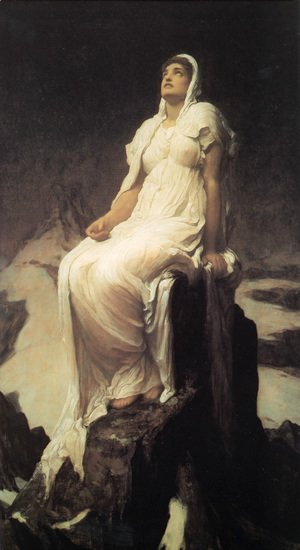 Lord Frederick Leighton - The Spirit Of The Summit