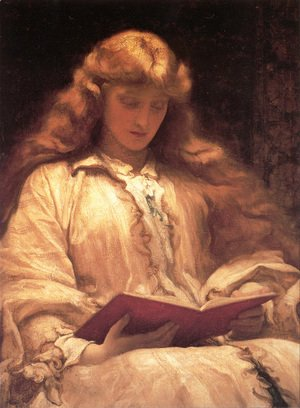 Lord Frederick Leighton - The Maid With The Yellow Hair