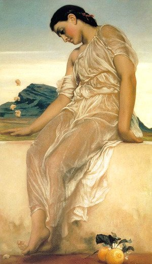 Lord Frederick Leighton - Girl