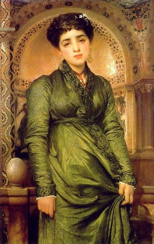 Lord Frederick Leighton - Girl In Green