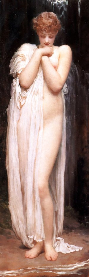 Lord Frederick Leighton - A Bather