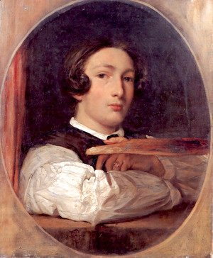 Lord Frederick Leighton - Self Portrait As A Boy