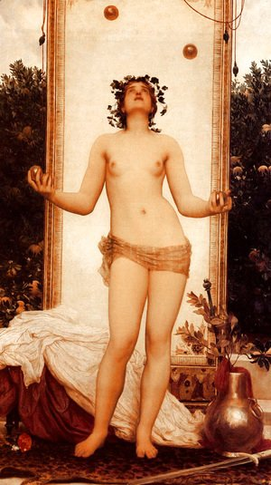 Lord Frederick Leighton - The Antique Juggling Girl