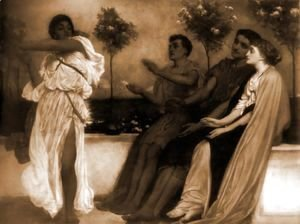 Lord Frederick Leighton - The Dancers