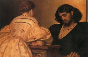 Lord Frederick Leighton - Golden Hours 1864