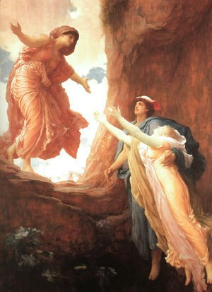 Lord Frederick Leighton - The Return of Persephone  1891